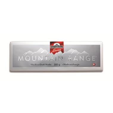 Waterbridge Swiss Mountain Range Dark Chocolate Bar