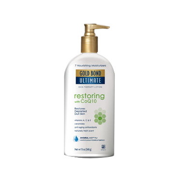 Gold Bond Ultimate Restoring Lotion with Q10