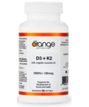 Orange Naturals D3 + K2 Softgels