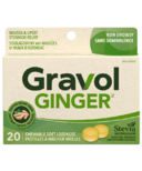 Gravol Natural Source Ginger Lozenges