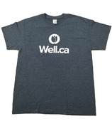 Well.ca Women's Ultra Cotton T-Shirt Dark Heather Grey