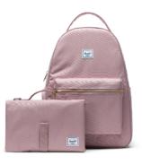 Herschel Supply Nova Sprout Backpack with Change Mat Ash Rose