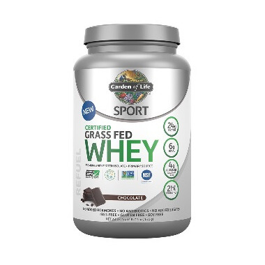Garden of Life SPORT Certified Grass Fed Whey Chocolate