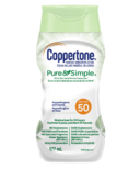 Coppertone Mineral Sunscreen Lotion Pure & Simple SPF 50