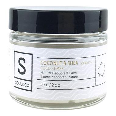 SoulDeo Cream Deodorant Coconut & Shea