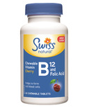 Swiss Natural Vitamin B12 & Folic Acid