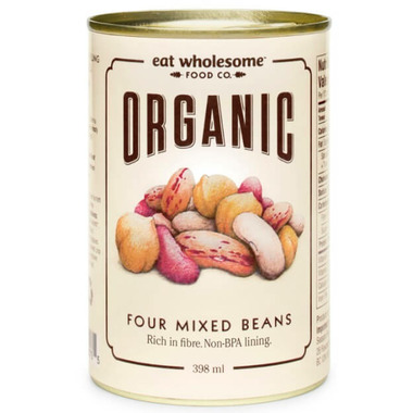 Eat Wholesome Organic Four Mixed Beans