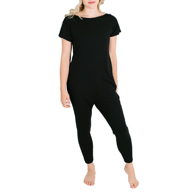 Smash + Tess Well.ca Exclusive The Weekend Romper Midnight Black