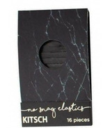 kitsch Black Marble Matchbook Elastics