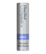 ChapStick Total Hydration Vanilla Lip Balm Tube Natural Moisture