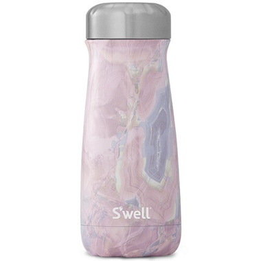 S\'well Traveler Stainless Steel Wide Mouth Bottle Geode Rose