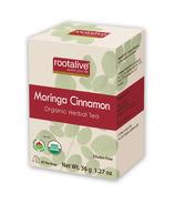 Rootalive Organic Moringa Cinnamon Tea