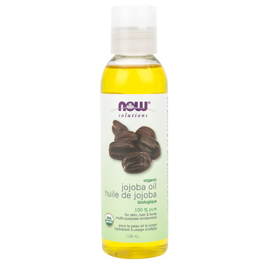 NOW Solutions 100% Pure Organic Jojoba Oil