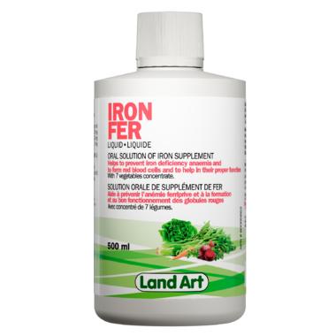 Land Art Iron Supplement
