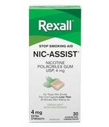 Rexall Nic-Assist Gomme à la nicotine extra forte 4 mg menthe fraîche