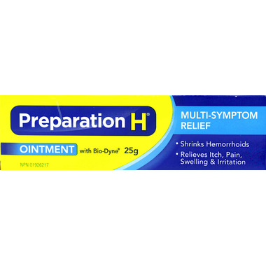Preparation H Ointment with Bio-Dyne for Multi-Symptom Relief