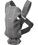 BabyBjorn Baby Carrier Mini Dark Grey 3D Jersey