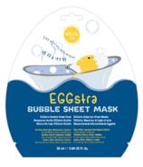 masque BAR Eggstra Bubble Sheet Mask