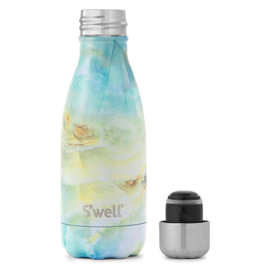 S\'well Element Collection Stainless Steel Water Bottle Opal Marble