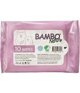 Bambo Nature Wet Wipes Travel SIze