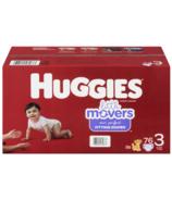 Couches pour bébé Huggies Little Movers