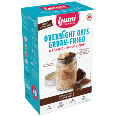 Yumi Organics Overnight Oats Dark Chocolate