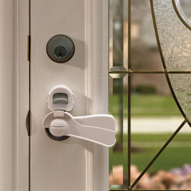 KidCo Door Lever Lock Clear