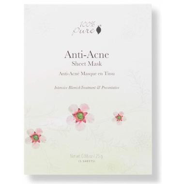 100% Pure Sheet Mask Anti Acne Box