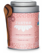 JusTea Loose Leaf Herbal Tea Little Berry Hibiscus