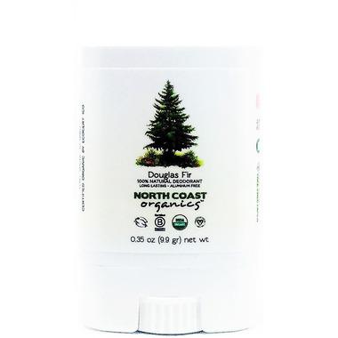 North Coast Organics Douglas Fir Organic Deodorant Travel Size