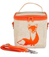 SoYoung Raw Linen Orange Fox Large Cooler Bag