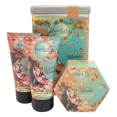 Barefoot Venus Maple Blondie Tin Gift Set