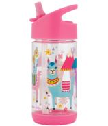 Stephen Joseph Flip Top Water Bottle Llama
