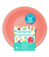 Preserve Compostables Bowls Red