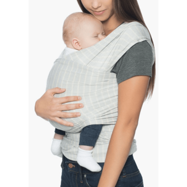 Ergobaby Lightweight Aura Wrap Grey Stripes