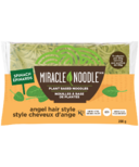 Miracle Noodle Plant Based Noodles Spinach Angel Hair Style