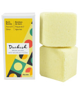 Duckish Natural Skin Care Citrus Bath Bombs 2 Pack