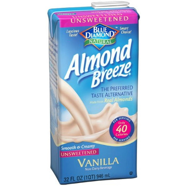 Blue Diamond Almond Breeze Vanilla