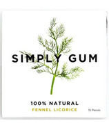Simply Gum Fennel Natural Chewing Gum