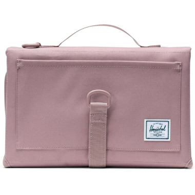 L/ÄSSIG Baby Diaper Bag with Changing Pad for on the go//Changing Pouch Dots rose Pink