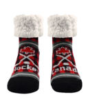 Pudus Classic Slipper Socks Lumberjack Hockey