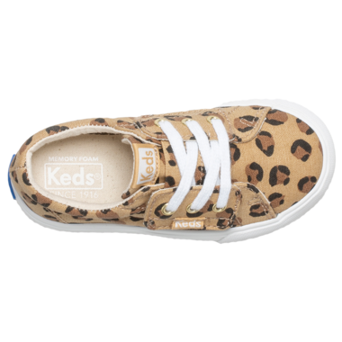 Keds Little Kids Kickstart Core Jr. Sneaker Leopard