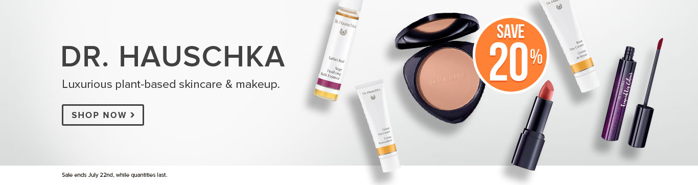 Save 20% off Dr. Hauschka