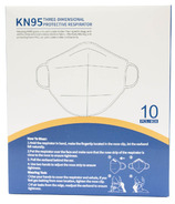 Global Components KN95 Three-Dimensional Protective Respirator Masks