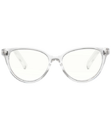 The Book Club Blue Light Glasses The Art of Snore Cellophane Clear
