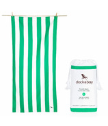 Dock & Bay Quick Dry Towel Cabana Narabeen Green