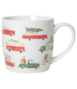Now Designs Mug Holiday Cars
