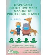 Disposable Protective Masks for Kids Blue
