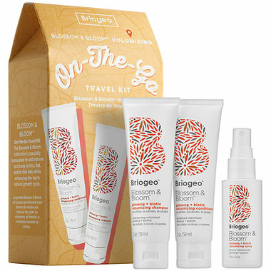 Briogeo Blossom & Bloom Volumizing On-The-Go Travel Kit
