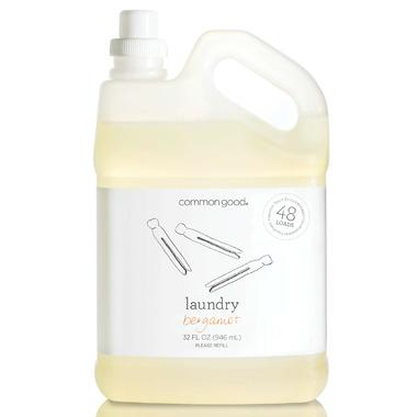 Common Good Laundry Detergent in Bergamot